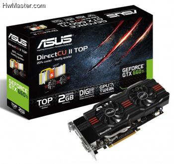ASUS GeForce GTX 660 Ti DirectCU II TOP graphics card 799x755