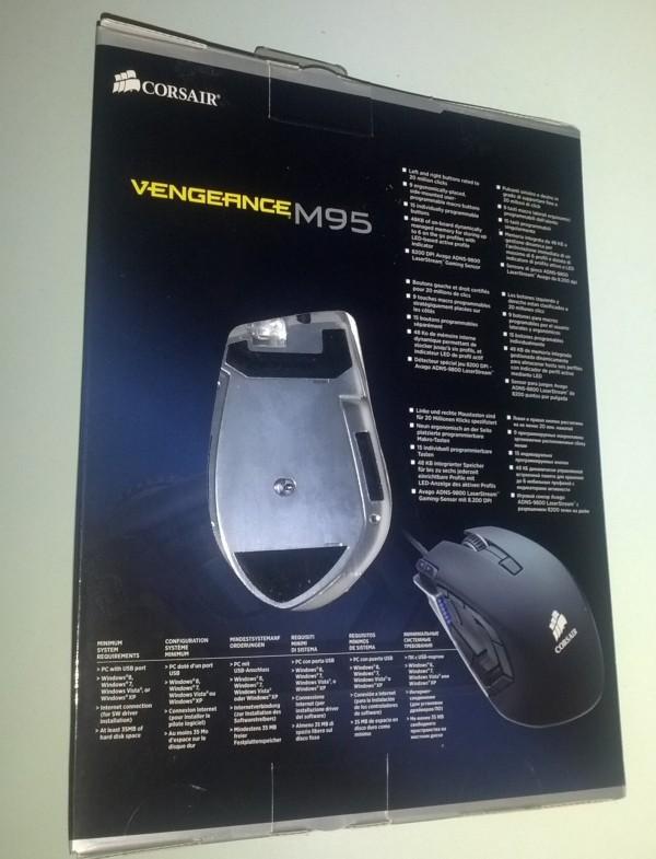 Corsair M95 recensione unboxing 2